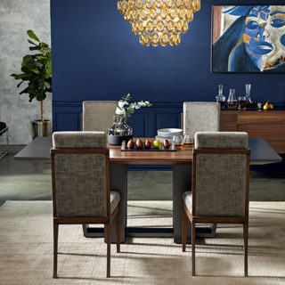 This dining set is part of the new Venus Williams Collection in partnership with UMA Enterprises.